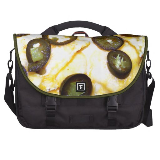 Chips, Cheese and Jalapenos Laptop Commuter Bag