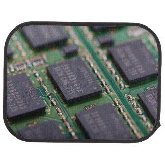 Chips de memoria del ordenador alfombrilla de auto