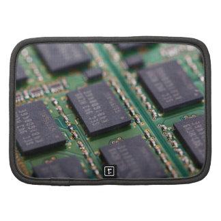 Chips de memoria del ordenador organizador