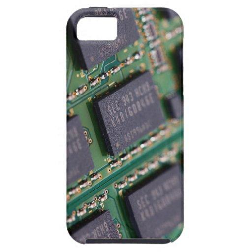 Chips de memoria del ordenador iPhone 5 Case-Mate carcasa