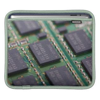 Chips de memoria del ordenador funda para iPads