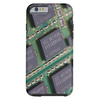 Chips de memoria del ordenador funda de iPhone 6 tough