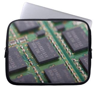 Chips de memoria del ordenador mangas portátiles