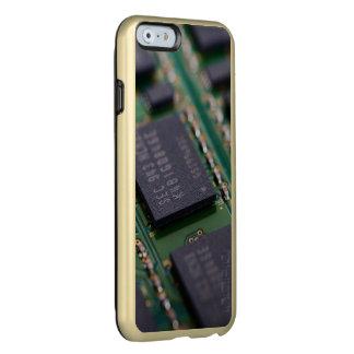 Chips de memoria del ordenador funda para iPhone 6 plus incipio feather shine