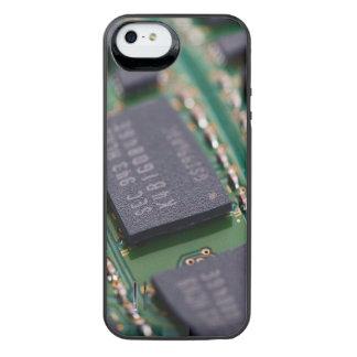 Chips de memoria del ordenador funda power gallery™ para iPhone 5 de uncommon