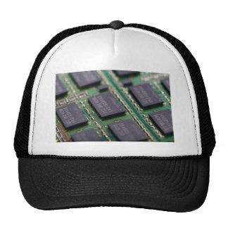 Chips de memoria del ordenador gorro