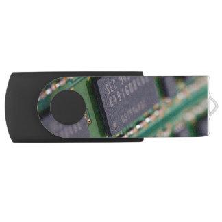 Chips de memoria del ordenador memoria USB 2.0 giratoria