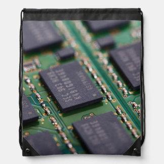 Chips de memoria del ordenador mochilas