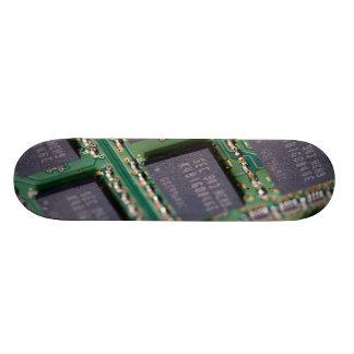 Chips de memoria del ordenador monopatin personalizado