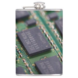 Chips de memoria del ordenador petaca