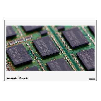 Chips de memoria del ordenador vinilo
