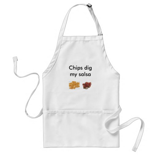 Chips Dig My Salsa Adult Apron