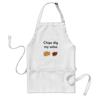 Chips Dig My Salsa Apron