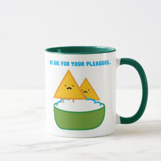 Chips & Dip Mug (Green Handle)