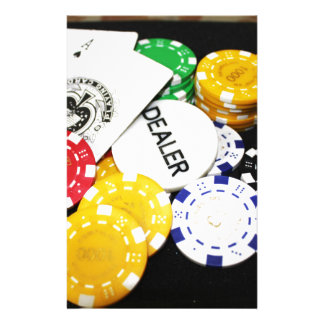 Chips Gambling Casino Win Game Luck Risk Bet Stationery