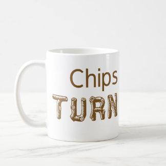 Chips Happen Woodturning Mug
