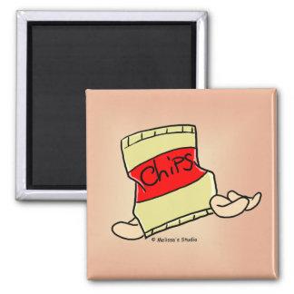 Chips Refrigerator Magnet