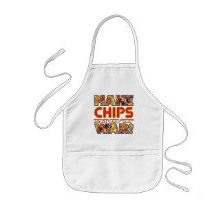Chips Make X Kids' Apron