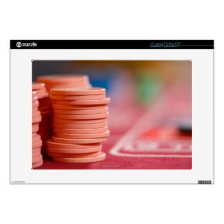 Chips on betting table 2 skin for laptop