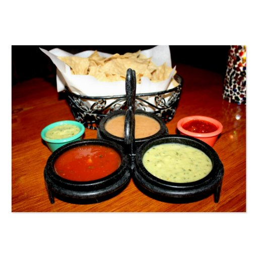 Chips & Salsa Large Business Cards (Pack Of 100)