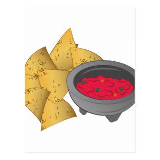 Chips & Salsa Postcard