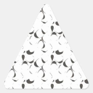 Chips Triangle Sticker