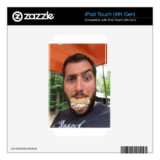 Chipwich Nut Eating One Retrobrands iPod Touch 4G Skins