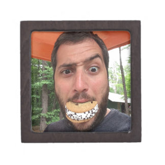 Chipwich Nut Eating One Retrobrands Jewelry Box