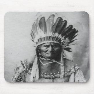 Chiricahua Apache Geronimo Goyathlay Goyahkla Mousepads