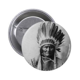 Chiricahua apache Geronimo Goyathlay Goyahkla Pins