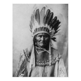 Chiricahua Apache Geronimo Goyathlay Goyahkla Postcard