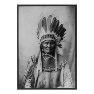 Chiricahua Apache Geronimo Goyathlay Goyahkla Poster