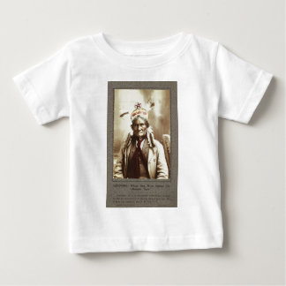 Chiricahua Apache Indian Leader Geronimo Portrait Infant T-shirt