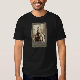Chiricahua Apache Indian Leader Geronimo Portrait Shirt