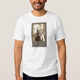 Chiricahua Apache Indian Leader Geronimo Portrait T-shirt