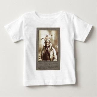 Chiricahua Apache Indian Leader Geronimo Portrait Infant T-shirt
