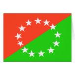 Chiriqui, Panama flag Card