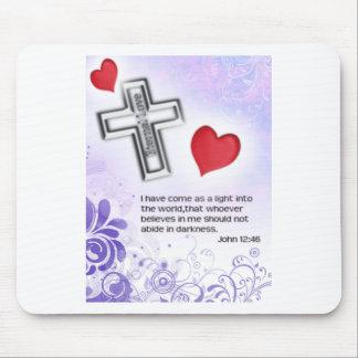 Chirist Eternal Love Mouse Pad