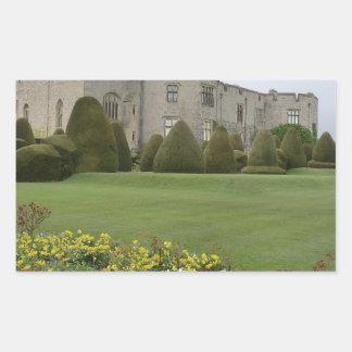 Chirk Castle and Gardens Rectangular Sticker