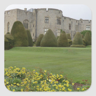 Chirk Castle and Gardens Square Sticker