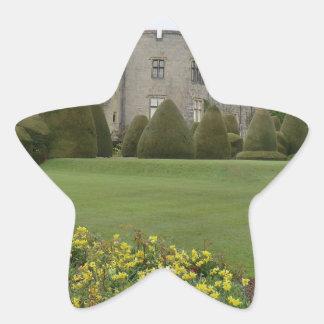 Chirk Castle and Gardens Star Sticker