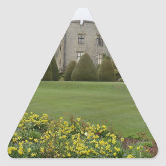 Chirk Castle and Gardens Triangle Sticker