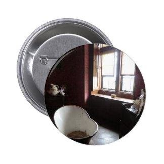 Chirk Castle Bathroom Pinback Buttons