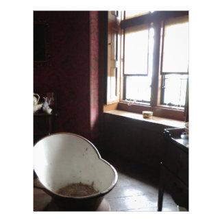 Chirk Castle Bathroom Letterhead Template