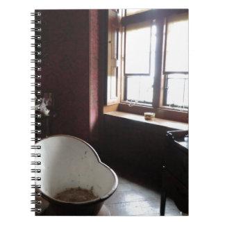 Chirk Castle Bathroom Spiral Notebook