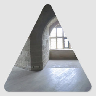 Chirk Castle Chamber Triangle Sticker