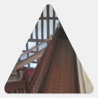Chirk Castle Chapel Triangle Sticker
