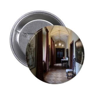 Chirk Castle Corridor Pinback Button