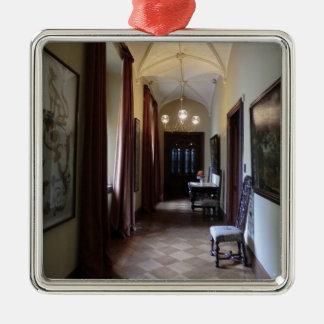 Chirk Castle Corridor Metal Ornament