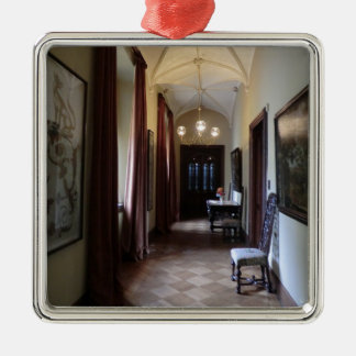 Chirk Castle Corridor Christmas Ornaments